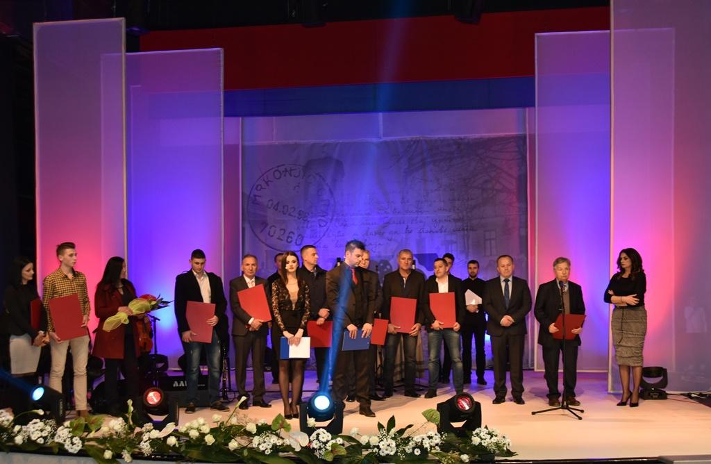 Dodjela nagrada i priznanja zaslužnim građanima opštine Mrkonjić Grad