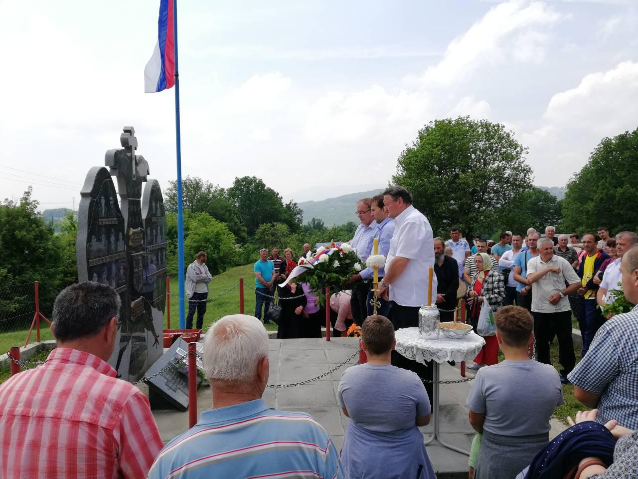 Žitna molitva i parastos poginulim borcima šehovačkog kraja