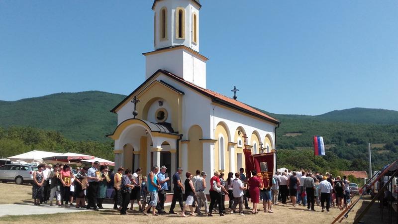 Прослављена крсна слава у Баљвинама и Дабрацу