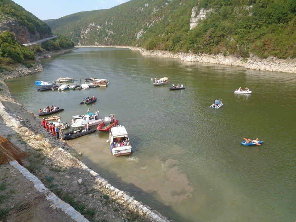 Održana prva regata na jezeru Vrbas