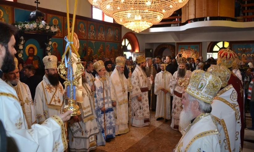 Устоличен епископ бихаћко-петровачки Сергије