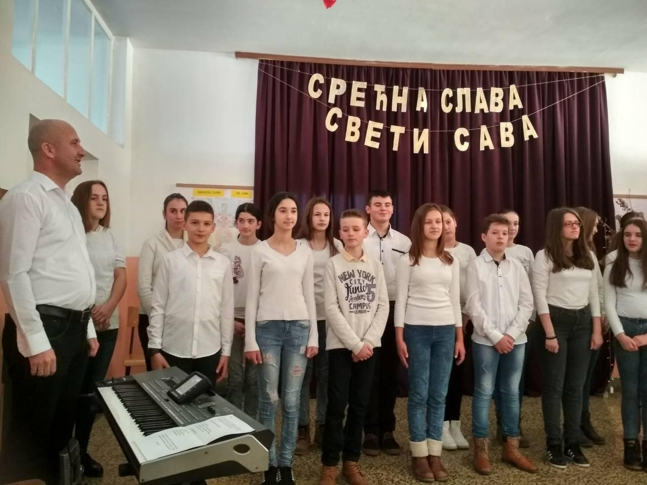 У Бјелајцу прослављена школска слава Свети Сава