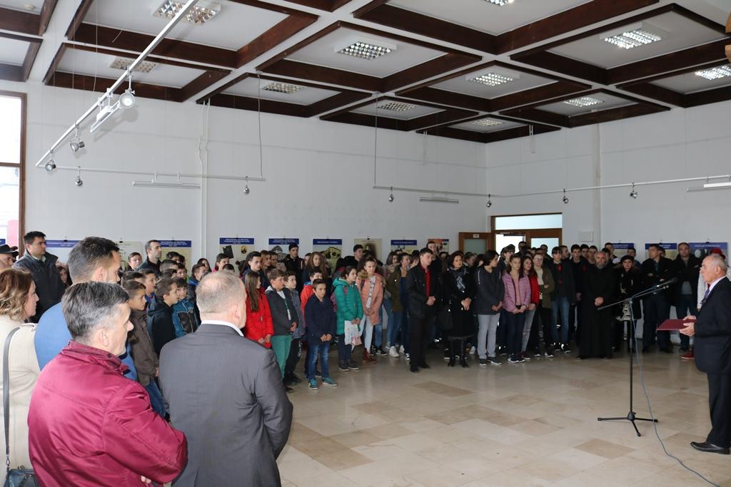 "Отворена изложба ""Живот и дјело Милутина Миланковића"""