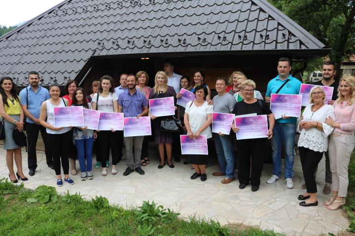 Константна подршка пројектима и активностима удружења грађана