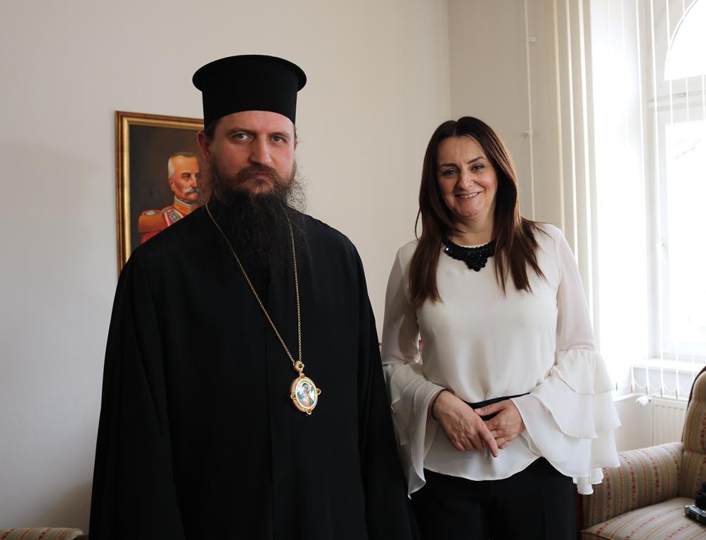 Посјета Епископа Сергија општини Мркоњић Град