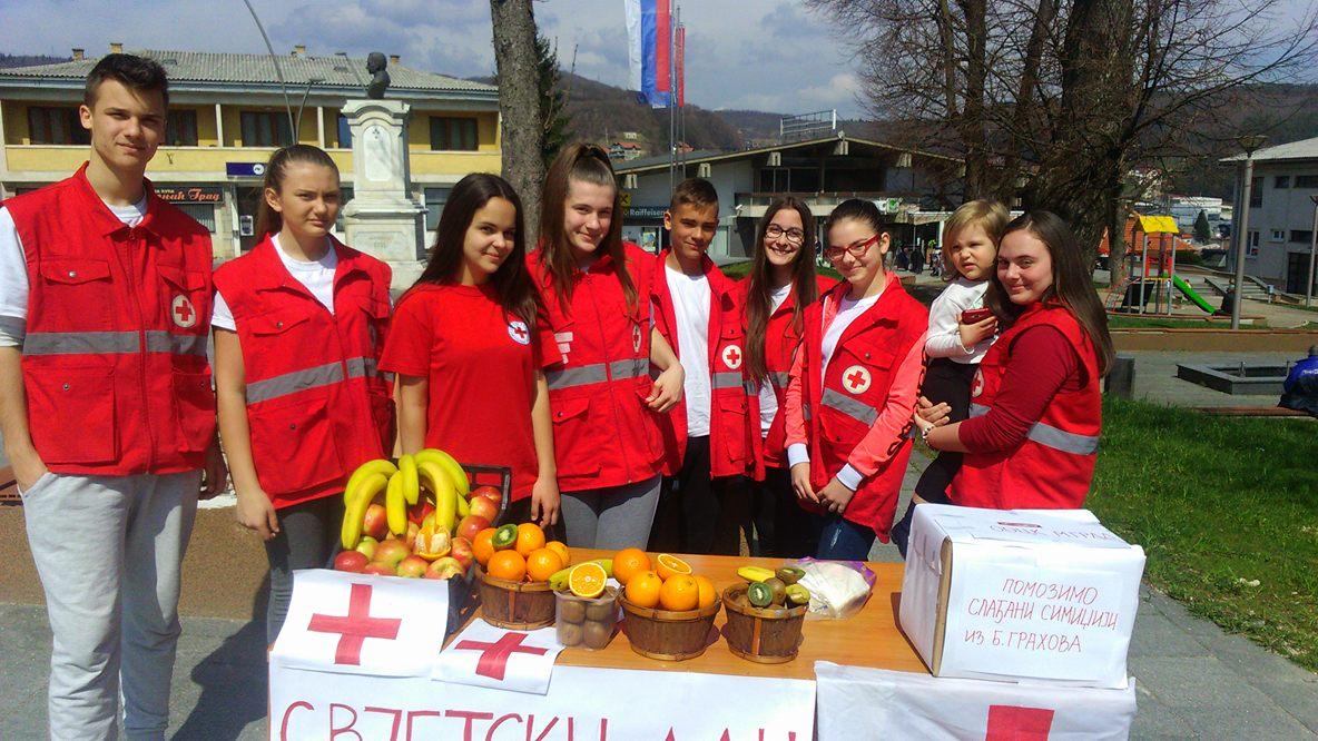 Млади Црвеног крста  обиљежили Свјетски дан здравља