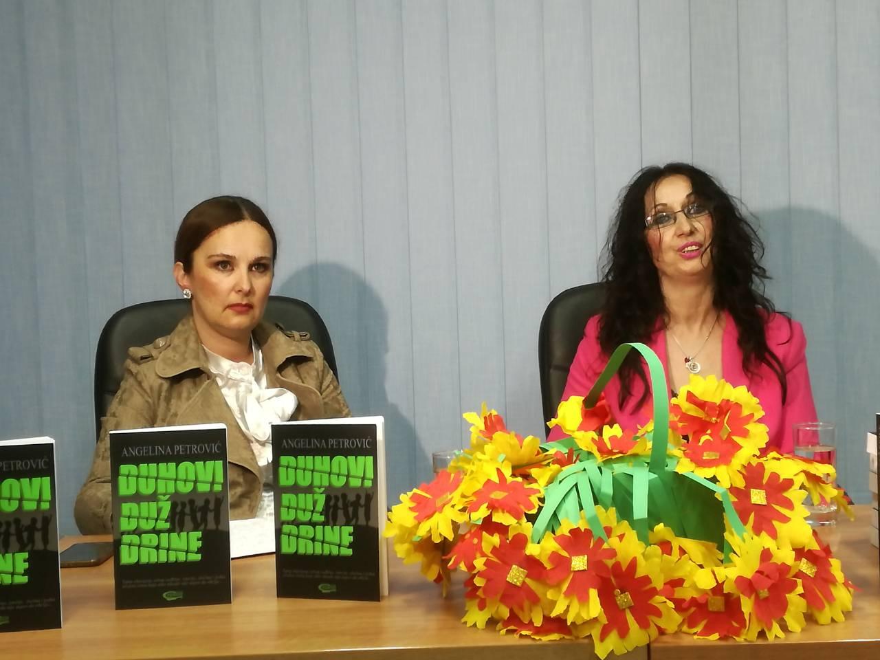 Књижевно вече са Ангелином Петровић