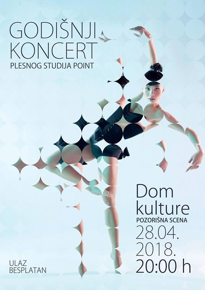 Годишњи концерт плесног клуба ''Поинт''
