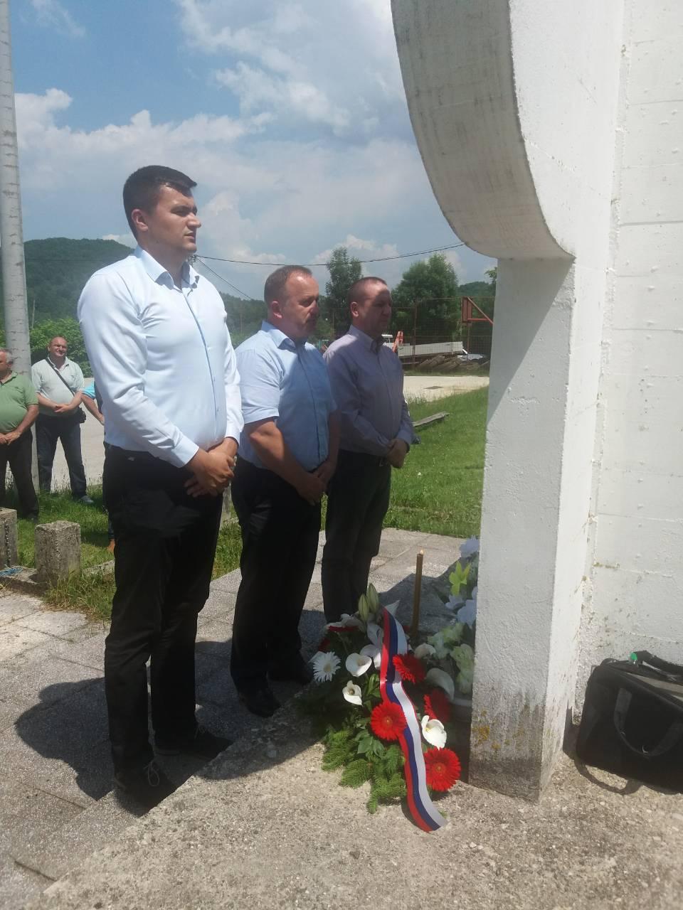 У Копљевићима служен парастос погинулим борцима и прослављена слава села