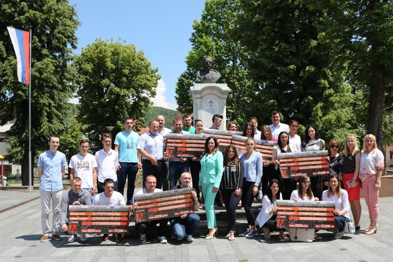 Омладинска банка у Мркоњић Граду подржала седам пројеката